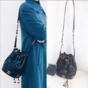 ❤️STUNNING❤️ Triple coco Chanel bucket bag